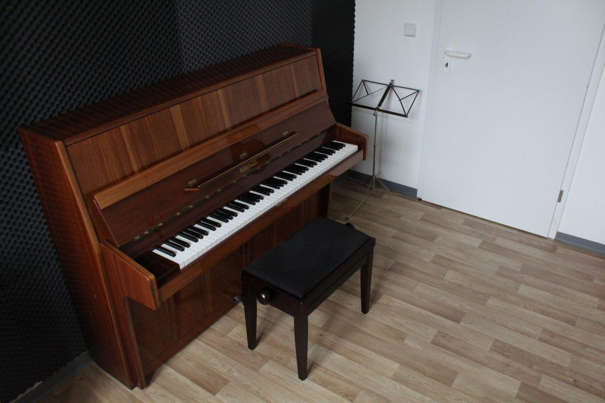 Proberaum Wildau Klavier